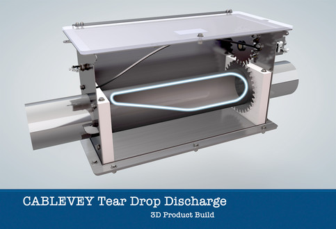 Cablevey Tear Drop Discharge