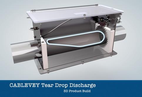 Cablevey Tear Drop Discharge