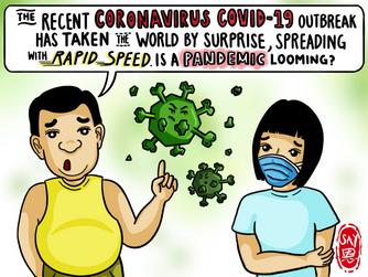 COVID-19 comic Singapore | infographic | illustration | Visual Summary | Artese Studios