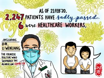 mic Singapore | Dr. Li WenLiang | infographic | illustration | Visual Summary | Artese Studios