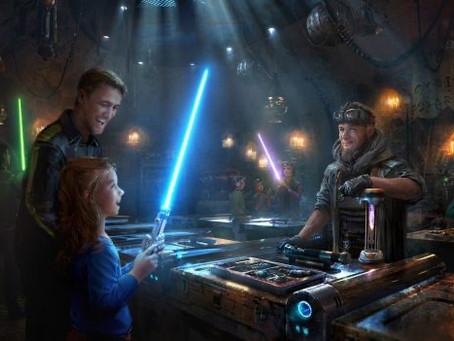Disney's Galaxy's Edge: How to Choose the Perfect Lightsaber For You Pt.2