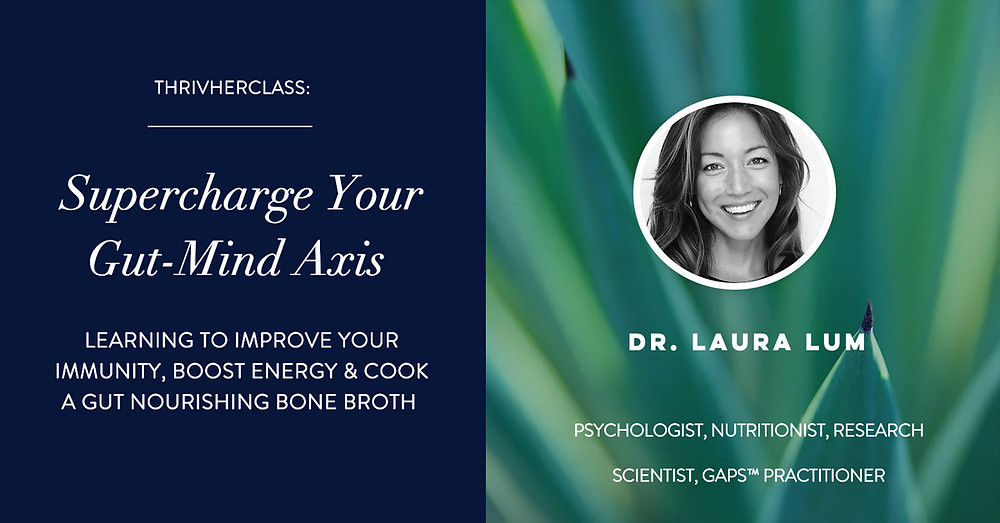 Supercharge Your Gut-Mind Axis workshop