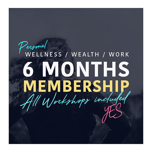 Six Months Membership