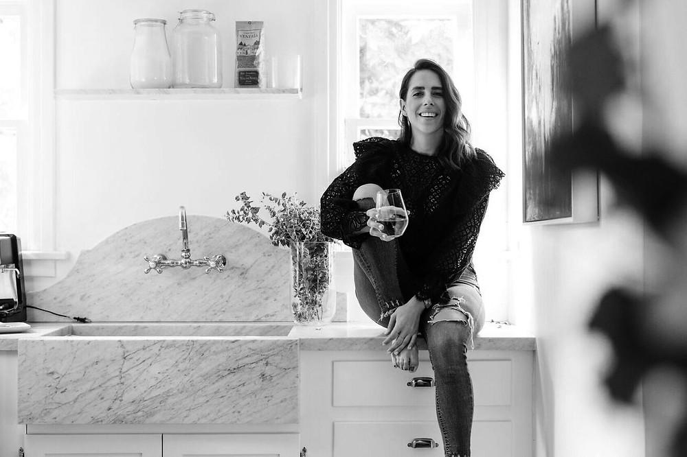 Rachelle Saevil is the Founder + Creative Director behind design studio, Saevil Row.