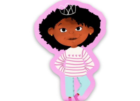 My Hair Is My Crown Stickers