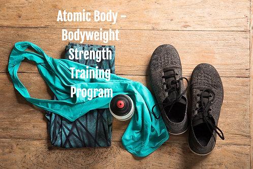 TFC's Atomic Body - 28 Day Strength Program (Intermediate level)