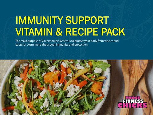 Immunity Support Vitamin & Recipe Pack