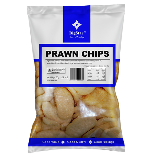 Prawn Chips 60g