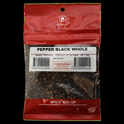 Pepper Black Whole 50g