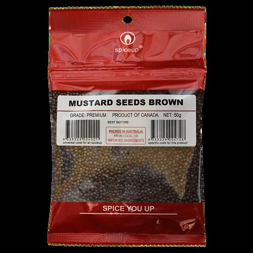 Mustard Seeds Brown 50g