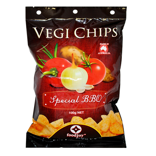 Vegi Chips Special BBQ 100g