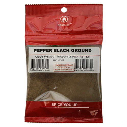 Pepper Black Ground 50g