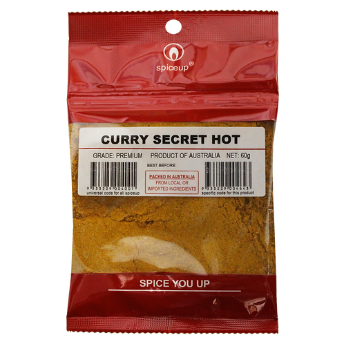Curry Secret Hot 60g