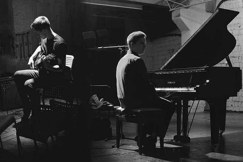 Heinali and Alexey Shmurak. Photo by Helen Jamison for UKHO music agency.