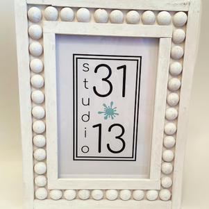 5x7 Beaded Frame