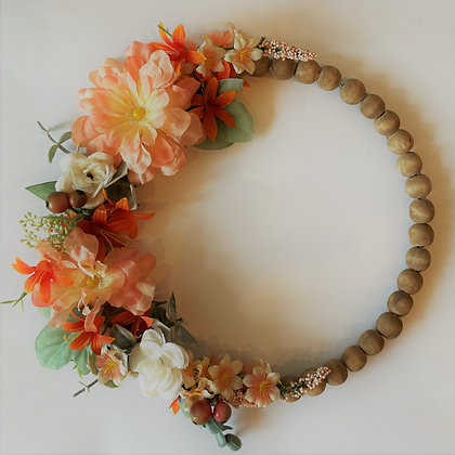 Beaded Wreath - Without Letter