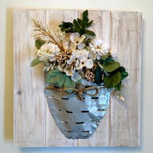 16x16 Floral Vase