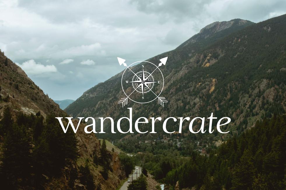 Wander Crate Logo Design