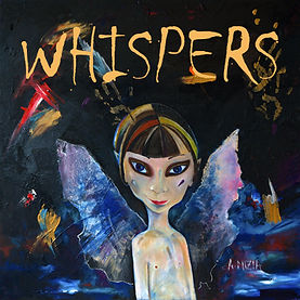 new music glasgow scotland whispers ep album cover