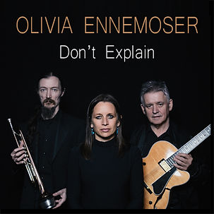 album cover for new release from olivia ennemoser and chris clark