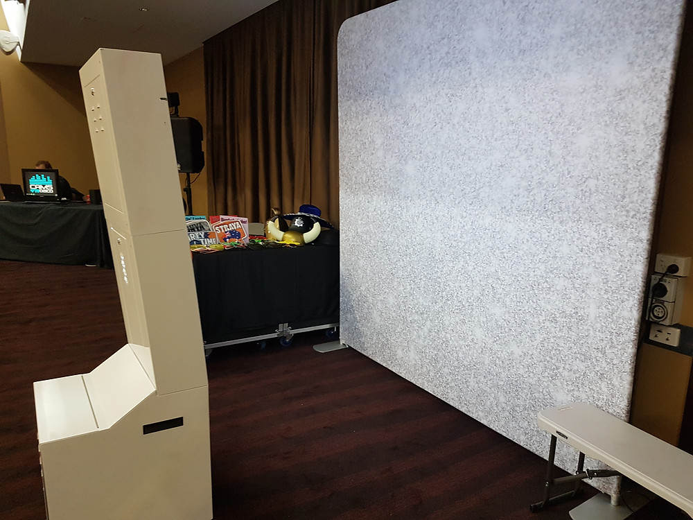 PicBox Photobooth set up at the Muswellbrook RSL Club on Saturday June 1 2019