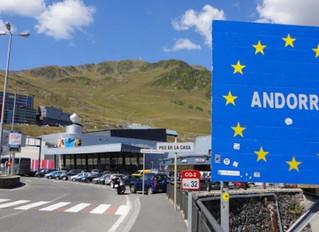 Los transportistas españoles que transiten por Andorra pagarán