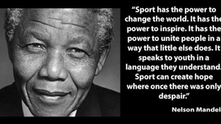 Sports has the power to change the world