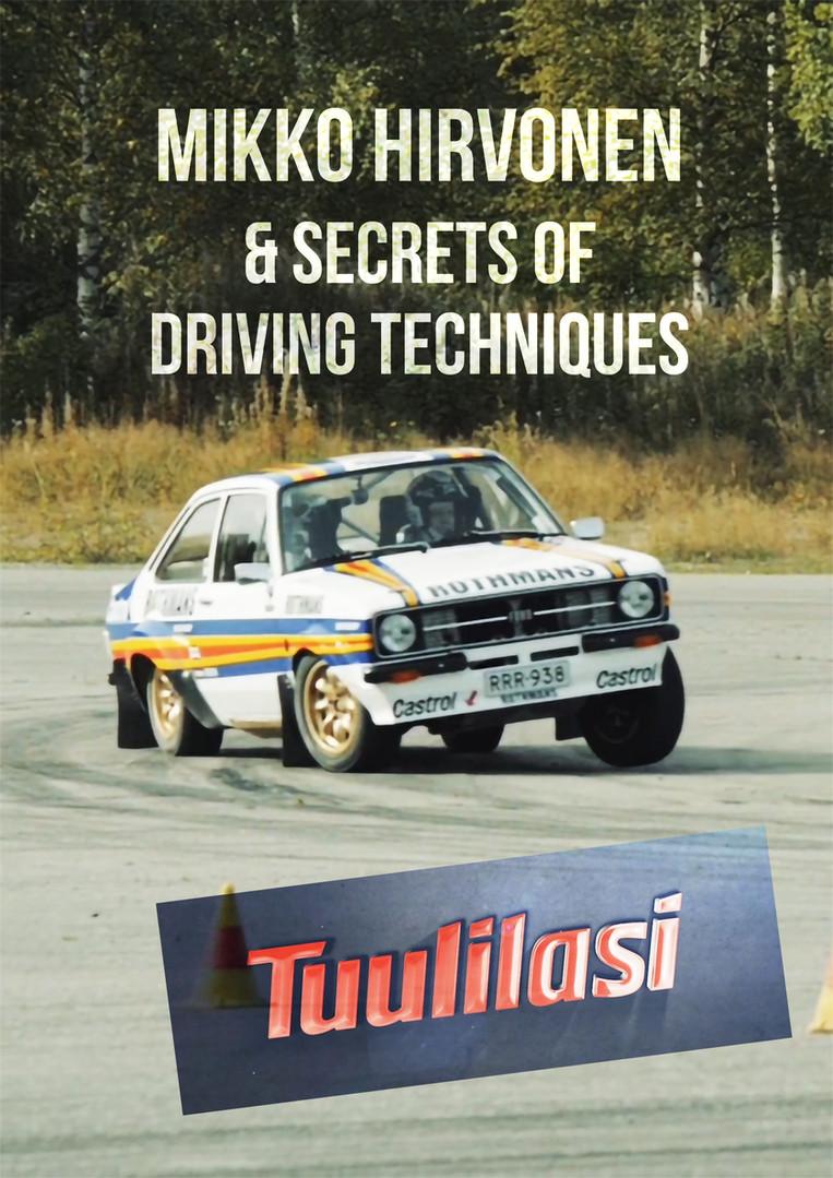 Mikko Hirvonen & Secrets of Driving Techniques