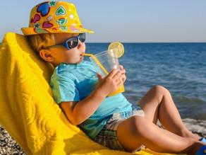 Cosa mettere in borsa quando si va al mare con i  bambini?