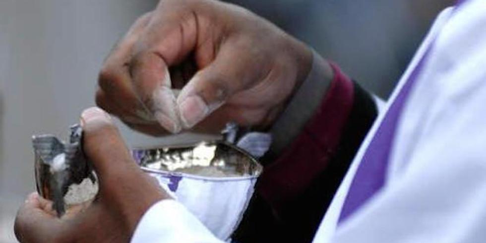 Mercredi des Cendres: messe d'entrée en carême avec imposition des cendres