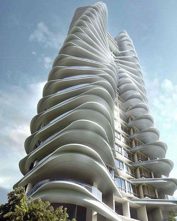 """1,221 Me gusta, 10 comentarios - Amazing Skyscraper (@amazingskyscraper) en Instagram: """"Ferrell Residences - Iconic Architecture  Developer: Premium Land Pte Ltd (C0431)  #Singapore…"""""""