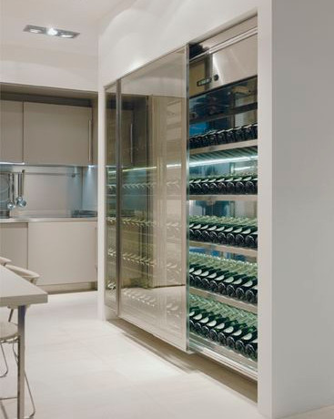 Trend Alert: Transparent Wine Storage
