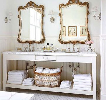 Bathroom Mirrors: How to Treat the Your Vanity Wall