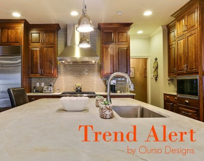 Trending Alert: Honed and Leathered Finishes for Stone Counter Tops