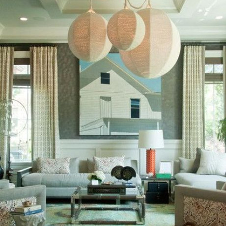 Unrestricted DeLight: Oversized Lighting Fixtures