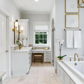InRegister: A sneak peek inside a stunning Bocage bath addition