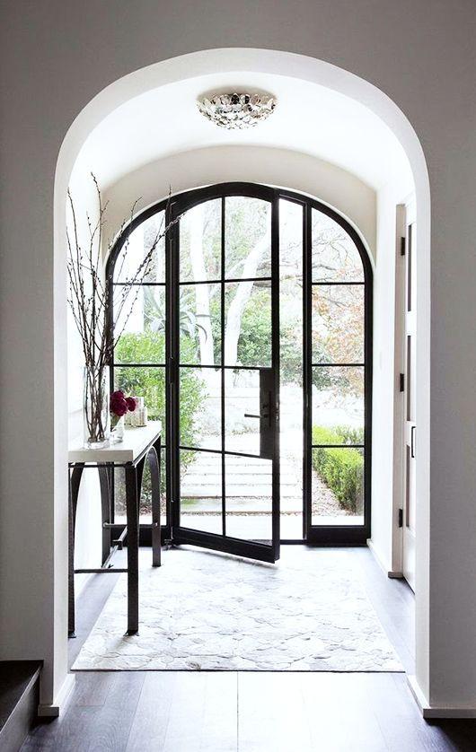 dream house: the front door.