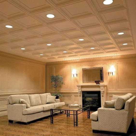 6 Designs of Suspended Ceiling Decors for 2017