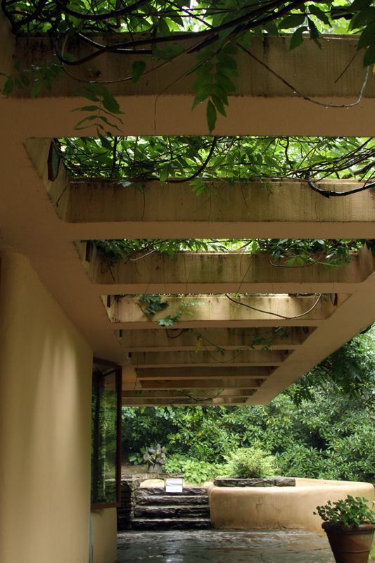 Beautiful design at Fallingwater by Frank Lloyd Wright