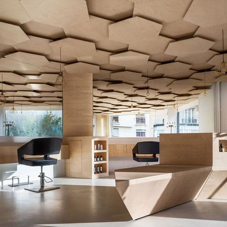 Trend Alert: Patterned Ceilings that Raise the Roof