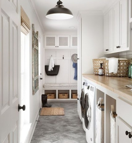 Laundry Rooms: Efficient AND Pretty