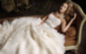 Dry cleaning weddng gown