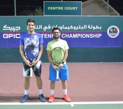Left Emir Isik & Abdul rahman Janahi