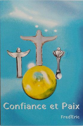 """Image format carte postale """"Confiance et Paix"""""""
