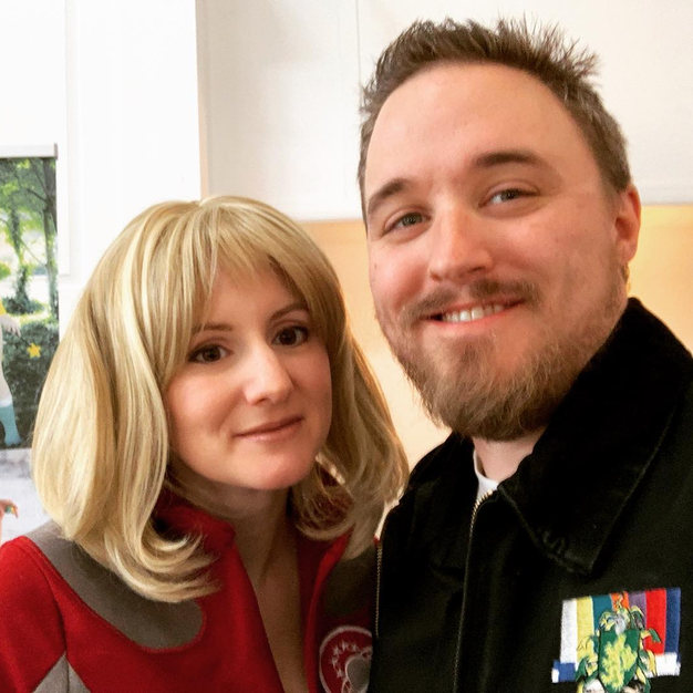 This Galaxy Quest crewmember meets a fan!