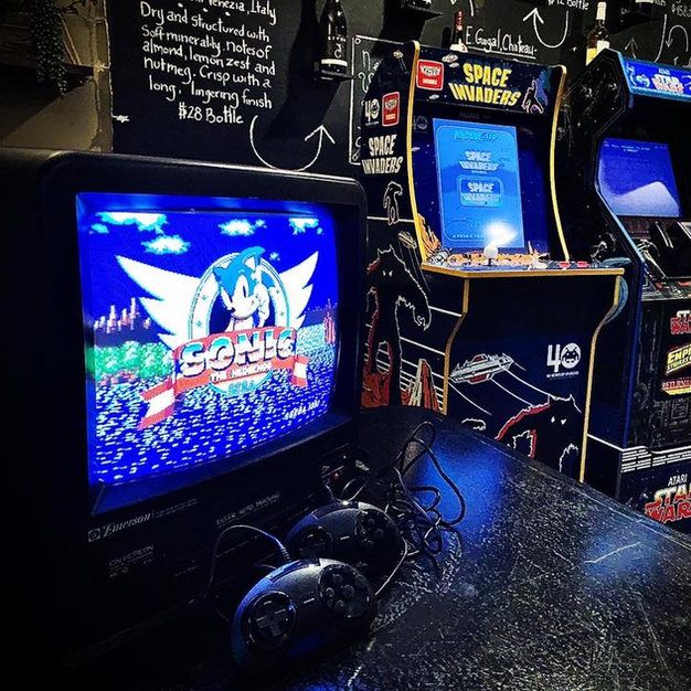 Sonic, Space Invadors, Mortal Combat! Oh My!