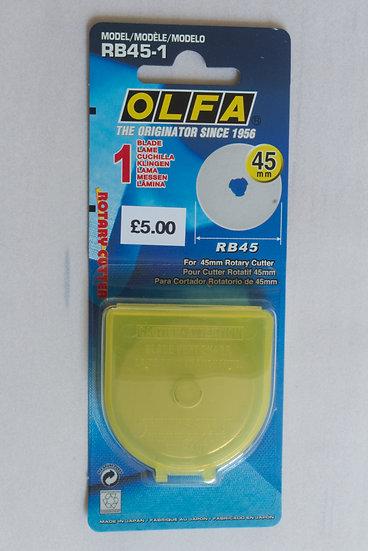 Olfa Rotary Cutter Blade 45mm
