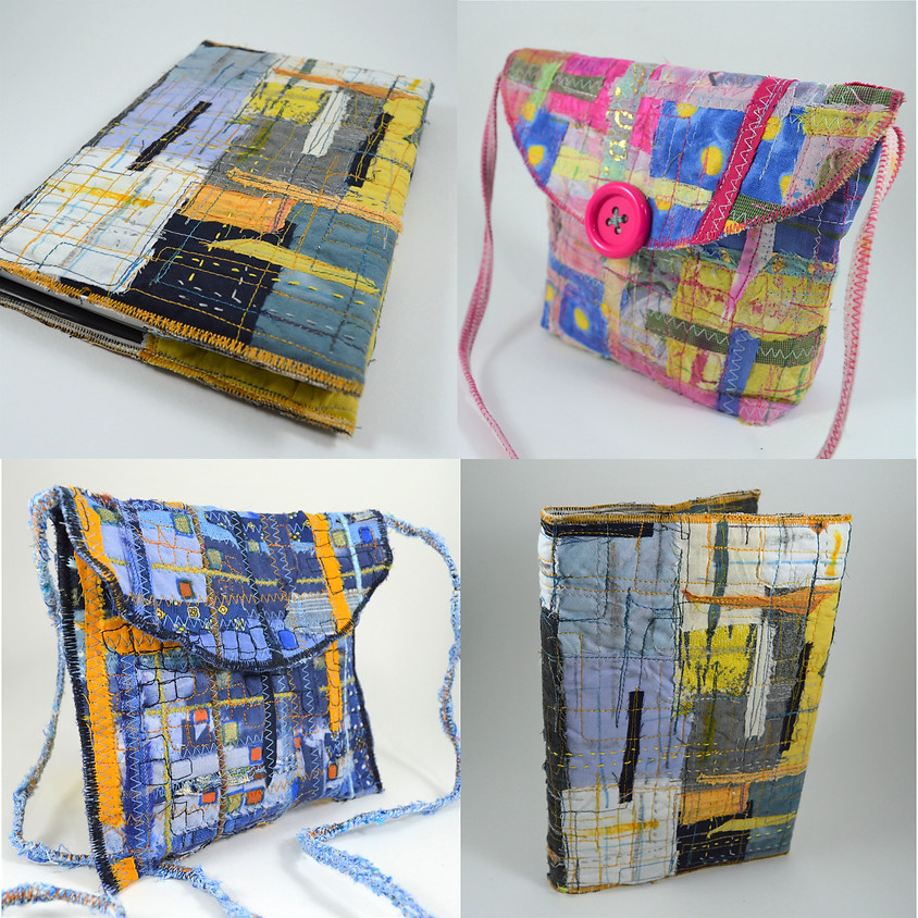 Fabulous Book Cover or Purse Workshop with Alison McDonagh AKA Ethical Stitcher