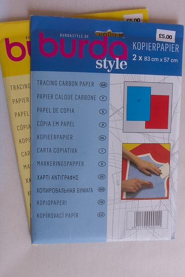 Burda Carbon Paper Blue/Red