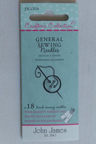 John James General Sewing x18